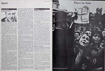 Anti-fascist demonstration, London, 1962