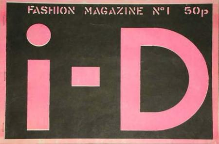 i-D magazine first issue cover