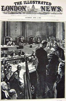 Illustrated Evening News reports Bottomley's guilty verdict
