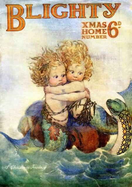 'Water Babies' Christmas 1919 issue of Blighty magazine