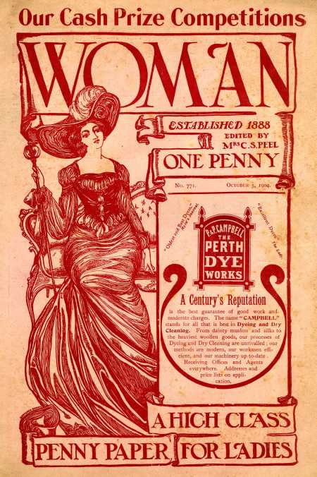 Woman magazine cover 1904