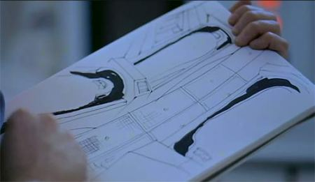 In 2001, Kubrick shows one of the astronauts making sketches of the scientists in suspended animation