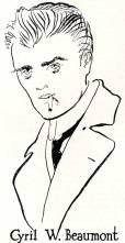 Billy Fury? James Dean? No - a drawing of a young rebel from 1916