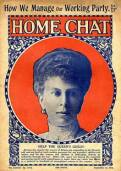 Home Chat cover from 19 September 1914 with a front cover story about supporting the Queen's Guild, which had been set up as a way for women to back the war effort