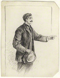 NPG D8190; Probably Alfred Bryan by Alfred Bryan
