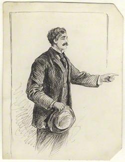 NPG D8190; Probably Alfred Bryan by Alfred Bryan