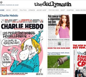 The Daily Mash marks the Paris attack