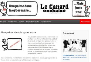 Le Canard Enchainé, a rival satirical weekly, had made no comment by 8pm, just publishing its usual edition in the morning