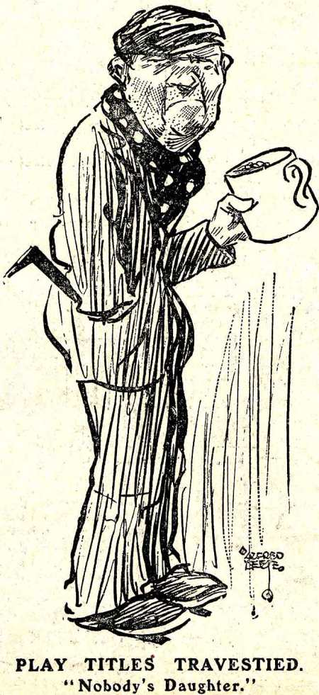 Drawing by Alfred Leete in the same issue of London Opinion