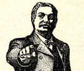 The pointing man from an advert in London Opinion magazine, 17 September 1910