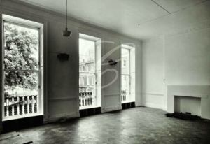 The Acorn User office 53 Bedford Square as it looked in 1969 – no fireplace or chandeliers