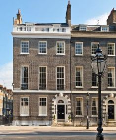 53 Bedford Square in London's Bloomsbury. This Georgian building is up for sale at £12 million