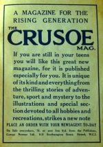 1924 Crusoe advert