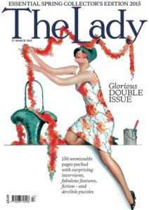 Retro artwork for The Lady magazine from 27 March 2015