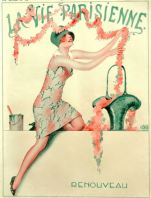 Racy French weekly Vie Parisienne from 1926