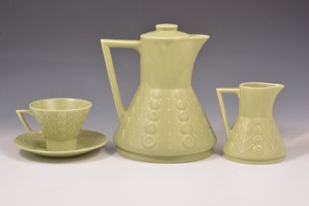Maxwell Wood Astra coffee set from the 1960s - favourite for the Dalek shape