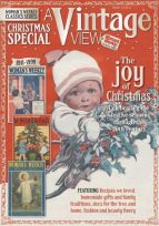 Lilian Hocknell artwork revived for Christmas 2014 Vintage View from Woman's Weekly magazine cover