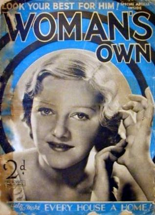 A cover of woman's Own magazine from 17 December 1932, its first year of publication