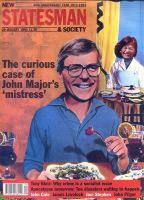 New Statesman 1993 jan 29 John Major Clare Latimer