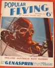 Popular Flying in 1934 when it was edited by Biggles creator WE Johns