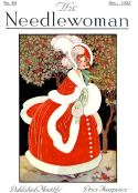 'Mother Christmas' cover for Needlewoman magazine from December 1925