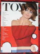 Town magazine and the`Girl in Red Water up to her Charlies' cover from September 1965