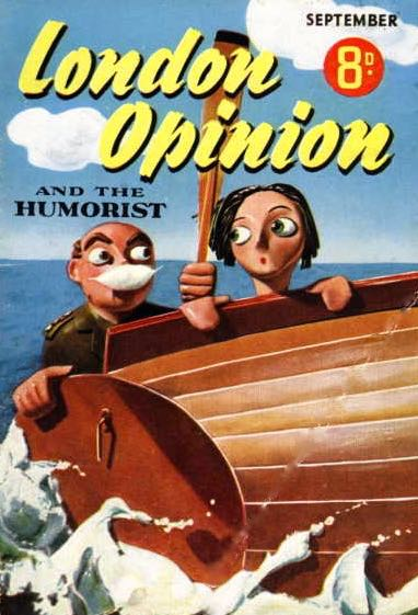 London Opinion magazine's cover from September 1940 reveals that another magazine has closed