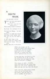John Gwynn's poem 'A Death Mask' in the Strand magazine appears to have been inspired by a drowned woman in Paris