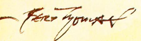 Bert Thomas's signature from the Humorist, 25 December 1939