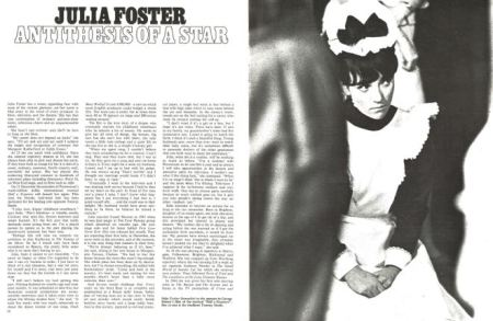 Julia Foster profiled in Look of London (25 November 1967)
