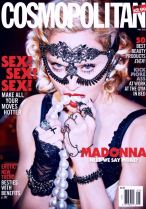 Madonna rides again on the cover of Cosmopolitan with its May 2015 issue