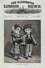 Kate Greenaway painting called 'Darby and Joan' on Illustrated London News in 1878
