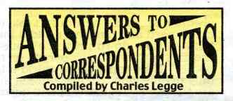 This logo from a recent Daily Mail is based on the original masthead for Answers Magazine