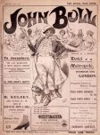 The first issue cover of John Bull from 1 April 1903
