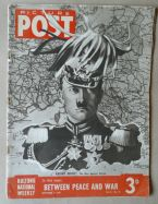 A Heartfield montage on the cover of Picture Post dated 9 September 1939