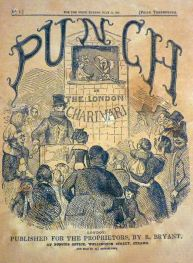 The first issue of Punch magazine dated 17 July 1841. Punch has coined many words and phrases, including 'the curate's egg'