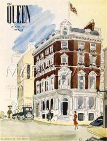 The glossy monthly Queen occupied the old Tit-Bits office in 1947