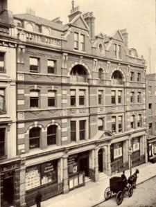 Newnes offices at 7-12 Southampton Street from 1896