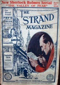 Strand magazine of September 1914 puts Sherlock Holmes on the cover