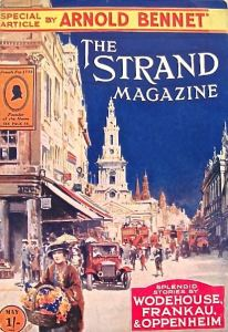 The Strand magazine of May 1922 with a colour cover and a Covent Garden flower seller