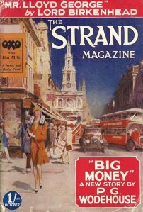 October 1930 Strand magazine has a thoroughly modern flapper on the cover