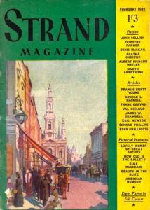 This Strand cover design from February 1942 is based on a reworking of the Haité illustration