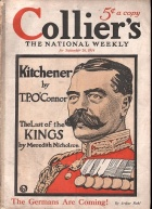 How the US magazine Collier's depicted Kitchener in September 1914