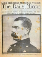 Daily Mirror of June 1916 with a Kitchener memorial_issue