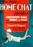 Winnie the Pooh appeared exclusively in colour in six 1928 issues of Home Chat