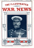 Kitchener on the cover of Illustrated War News in June 1914