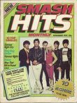 Debbie Harry and Blondie on the first issue cover of Smash Hits from November 1978