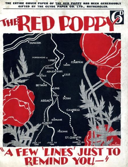 Red Poppy was a fundraising magazine produced in Glasgow