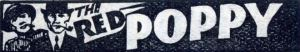 This logo was used as a strap on the pages of Red Poppy magazine