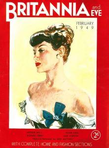 Britannia and Eve, February 1949